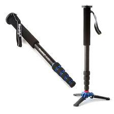 A-222 Alumninum Camera Unipod Monopod Walk Stick Flip Lock W/ 3 Legs Base Tripod