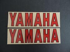 YAMAHA FORK TUBE SHOCK DECALS GRAPHICS VINTAGE MOTOCROSS AHRMA YZ