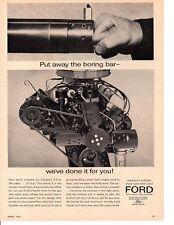 1963 FORD FAIRLANE 289/271 HP V-8 ~ ORIGINAL MUSCLE CAR AD