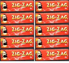 12 Packs Zig Zag Red Rolling Papers LIMITED# Available Great Price! USA SHIPPED
