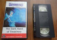 Visionaries Knights Of The Magic Light The Dark Hand Treachery VHS PAL VIDEO