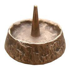 Bronze Leuchter 6,5 cm Durchmesser 2cm hoch Bronze candle holder