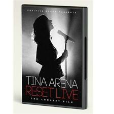 TINA ARENA RESET LIVE DVD ALL REGIONS NTSC 5.1 NEW