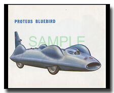 1960 Proteus Bluebird Donald Campbell Land Speed Record picture Olyslager
