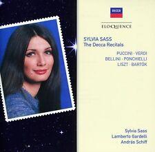 Sylvia Sass - Decca Recitals [New CD]