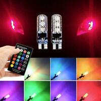 5050 Remote Control Car Led Bulb 6 Smd Multicolor W5w Bulbs Side 501 Light
