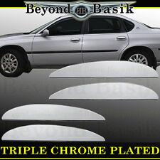 2000-2005 IMPALA, BONEVILLE, LESABRE Chrome Door LEVER Covers Trim Overlay Caps