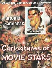 Thema blok postfris MNH - Caricatures / Antonio Banderas (TS053)