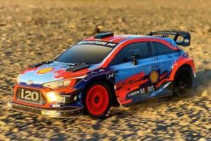 Carisma GT24 Hyundai i20 WRC 4WD 1/24 Micro Rally Car RTR