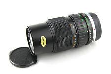 Olympus Zuiko 1:4 F = 75-150mm Lente zoom automático. punto hongo detectado.