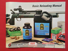 2016 WINCHESTER IMR HODGDON POWDER PISTOL RIFLE SHOTGUN CARTRIDGE RELOAD MANUAL