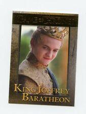 2015 GAME OF THRONES SEASON 4 GOLD #36 KING JOFFREY BARATHEON 084/150 *63683