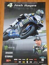 2014 Josh Hayes Graves Motorsports Yamaha R1 Superbike AMA poster