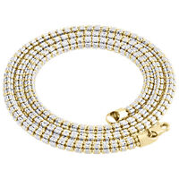 10K Yellow Gold 5.3mm Diamond Cut 3D Round Rice Bead Italian Necklace Chain 30""