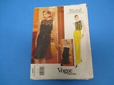 Vogue Designer Original Pattern #1959 Bellville Sassoon Vogue Pattern Svc M1100