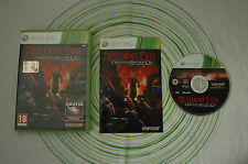 Resident evil operation raccoon city xbox 360 pal