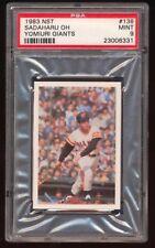 Japanese Baseball Sadaharu Oh 1983 NST #138 PSA 9
