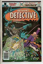 DC Comics Batman In Detective #462 August 1976 Elongated Man Scarce VF