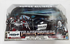 TRANSFORMERS HUMAN ALLIANCE BARRICADE & FRENZY RD-24 ROBOT FIGURE TOY POLICE