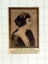 1920 LADY PATRICIA Ramsay dà alla luce un figlio St James'S