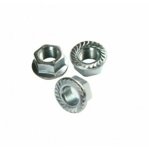 A4 (T316) Stainless Steel Serrated Flange Nut - DIN 6923 M6 M8 M10