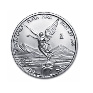 Libertad Onza 1/20 OZ 2020 Silber Silver Argent Mexiko Mexico Mexique
