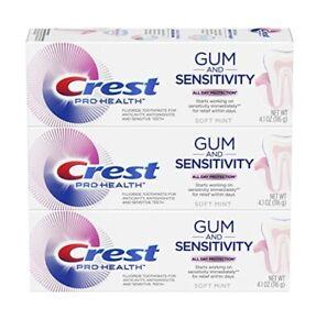Bundle of 3 Crest Pro-Health Gum & Enamel Repair/Sensitivity 4.1 oz. - New!!