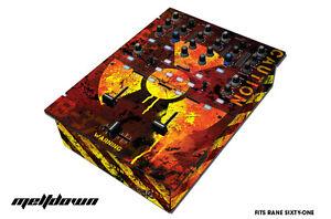 Skin Decal Wrap for RANE Sixty-One DJ Mixer CD Pro Audio Parts DJM CDJ MELTDOWN