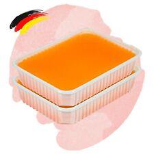 (17,38€/kg) Spar Pack Paraffin Wachs Schale 2 x 400g Orangen Duft Bad Block Mani