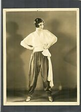 VERY EARLY GINGER ROGERS IN A RUSSIAN COSSAK COSTUME -1930 HER 1ST FEATURE FILM