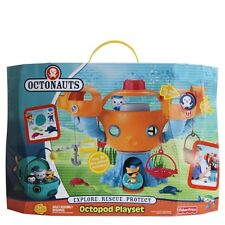 NEW Disney Jr Fisher-Price Original Octonauts Octopod Playset MIP Factory Sealed