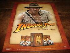 HARRISON FORD - PUBLICITE INDIANA JONES - TRILOGIE  !!!