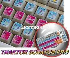 Native Instruments TRAKTOR SCRATCH PRO keyboard sticker