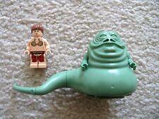 LEGO Star Wars - Rare Original Jabba the Hutt & Slave Princess Leia 6210