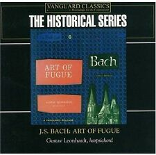 Gustav Leonhardt, J.S. Bach - Art of Fugue [New CD]