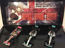 Lewis Hamilton World Champion 2008/2014/2015 Scale 1:43 Minichamps 412 081415