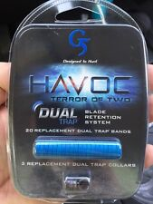 G5 Outdoors HAVOC Dual Trap Blade Retention System , 20 replacement trp bands