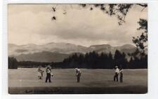 GOLF COURSE, WHITEFISH: Montana USA postcard (C29635)