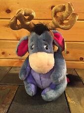 "NEW Disney ""EEYORE"" Reinder Stuffed Animal - 12 inches"