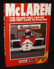 MCLAREN THE GRAND PRIX CAN-AM AND INDY CARS NEW EDITION DOUG NYE AUTOCOURSE
