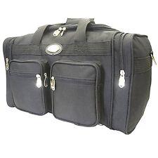 "BLACK Golden Wing Duffle Travel Gym Bag 22"" Inch 7022-BK"