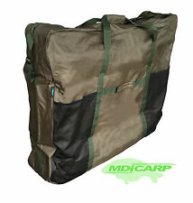 MDI MEGA XL Padded Zipped Carp Bedchair Bag Padded Shoulder Strap -100x90x25cm