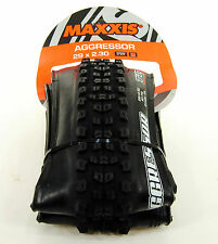"Maxxis Aggressor 29 x 2.30"" TR 120tpi 2C Tubeless Ready Mountain Bike Tire"