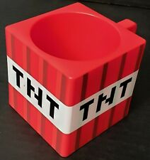 Authentic MINECRAFT TNT Block Plastic Mug Red