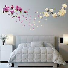 Walplus Magnolia flores Extraíble adhesivo pared pegatinas murales Nursery OFI