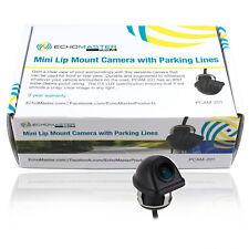 Backup Reverse Camera Mini Lip-Mount Reverse/Front Mount Camera w/ Parking Lines