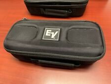 EV RE-320 RE20 Microphone Case Only Electro-Voice Zippered Carrying Case NEW