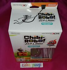 CHIBI -ROBO ! ZIP LASH AMIIBO BUNDLE JEU 3DS +AMIIBO CHIBI-ROBO BOITE ABIMEE