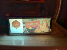 Vintage Dr. Pepper Light up Sign - Rare