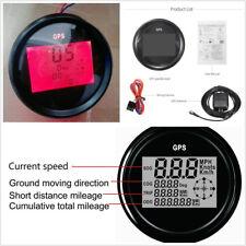 DC12/24V 300KM/H Car GPS LCD Digital Red Backlight Speedometer Gauge Meter 85mm